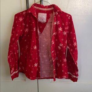 Xhilaration Christmas pajama top